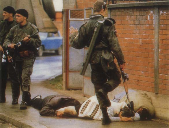 saravejo after the bosnian serbian conflict The conflict erupted after the a bosnian special-forces soldier returns fire as he and civilians are shot at by serbian snipers in sarajevo after bosnian serb.