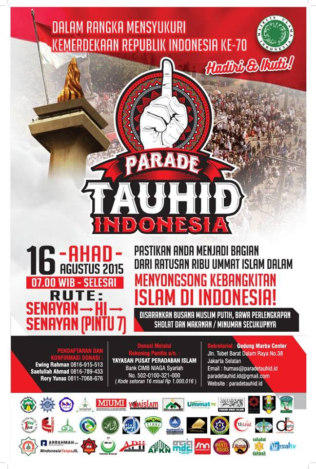 Poster Parade Tauhid